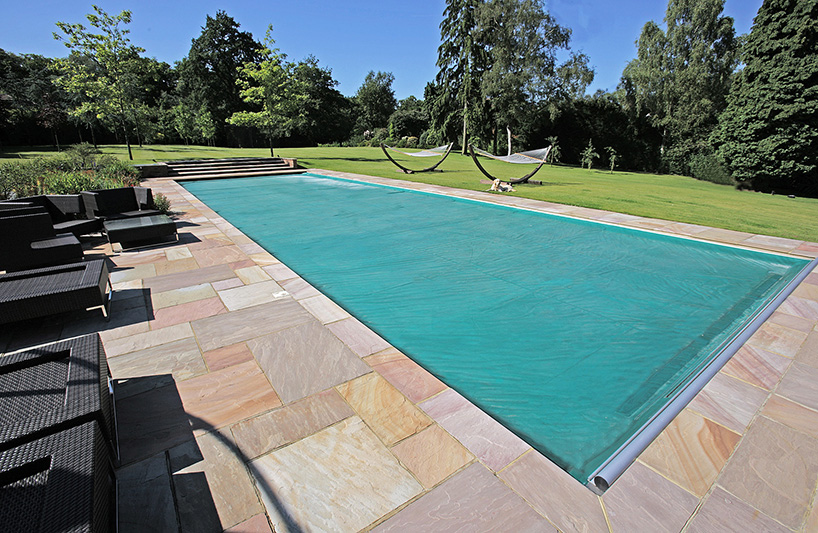 Swimming pool covers lagoon pools designing for Bespoke swimming pools