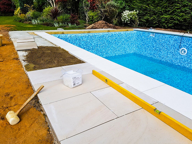 Landscaping Finishes | Lagoon Pools | Designing & installing luxury bespoke swimming pools for over 40 years